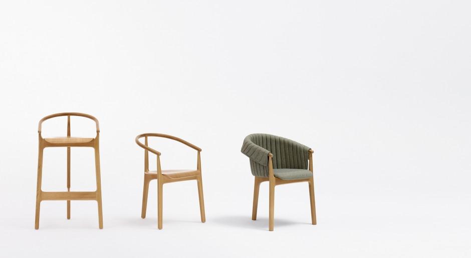 Nietypowe krzesło. Inspiracją własna historii projektantki