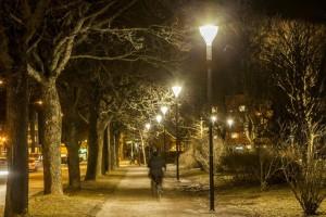 Najnowsza technologia LED na szwedzkim placu zabaw
