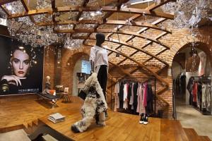 Wyjątkowe wnętrze butiku Louve według koncepcji Grycaj Design