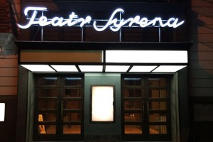 Wielki powrót neonu Teatru Syrena