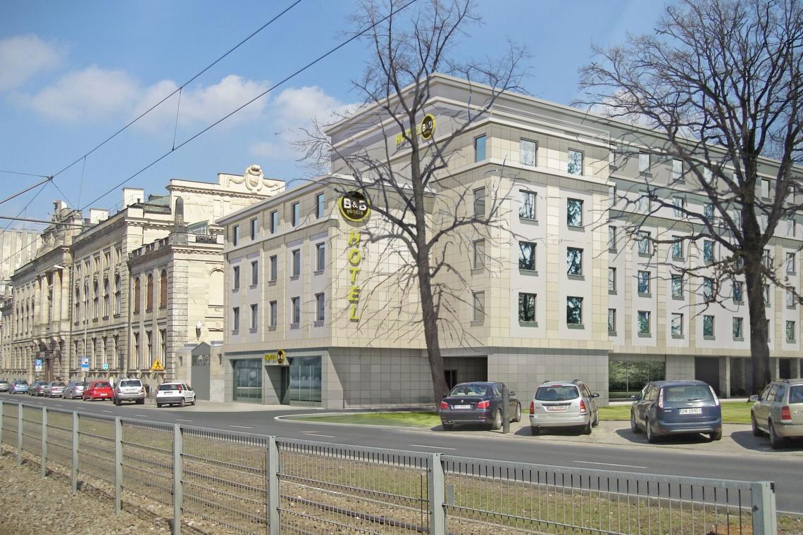 Nowy hotel B&B w Łodzi zaprojektowała pracownia Arbapol