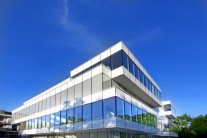 Biurowiec o szklanej fasadzie zaprojektowany przez Creoproject Wrocław