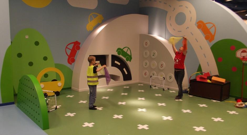 Centra handlowe stawiają na przestrzenie dla najmłodszych. Tu liczy się projekt
