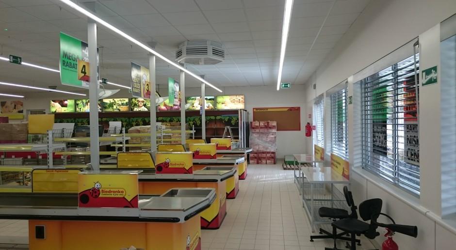 Pracownia Sigma zaprojektowała sklep Biedronka w Łodzi