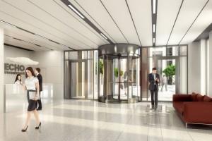 Projekt Symetris Business Park powstał na deskach pracowni B'ART