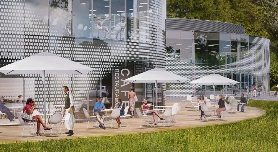 Restauracje, biura, spa - powstaje Muchowiec Active Park
