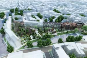 Chamielec Architekci projektują 2,5-hektarowy Bulwar Staromiejski