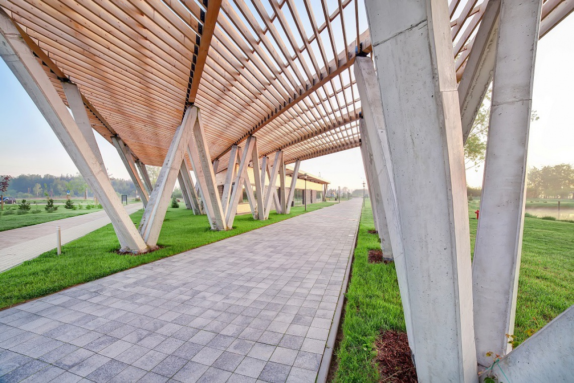 Zoom Natury projektu Nizio Design International w Janowie Lubelskim