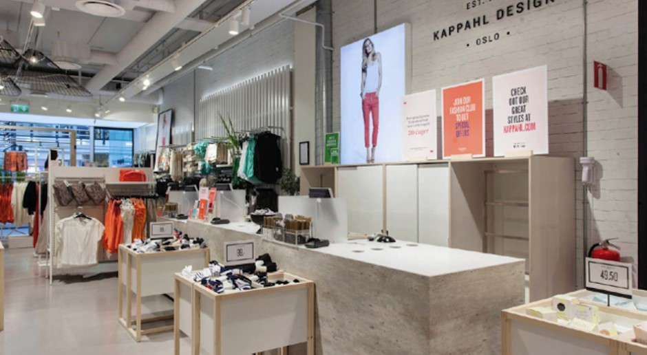Totalna transformacja salonów KappAhl