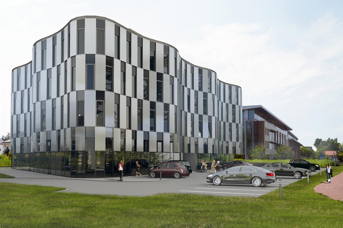 Biurowiec Pileckiego projektu Szaroszyk & Rycerski Architekci już gotowy
