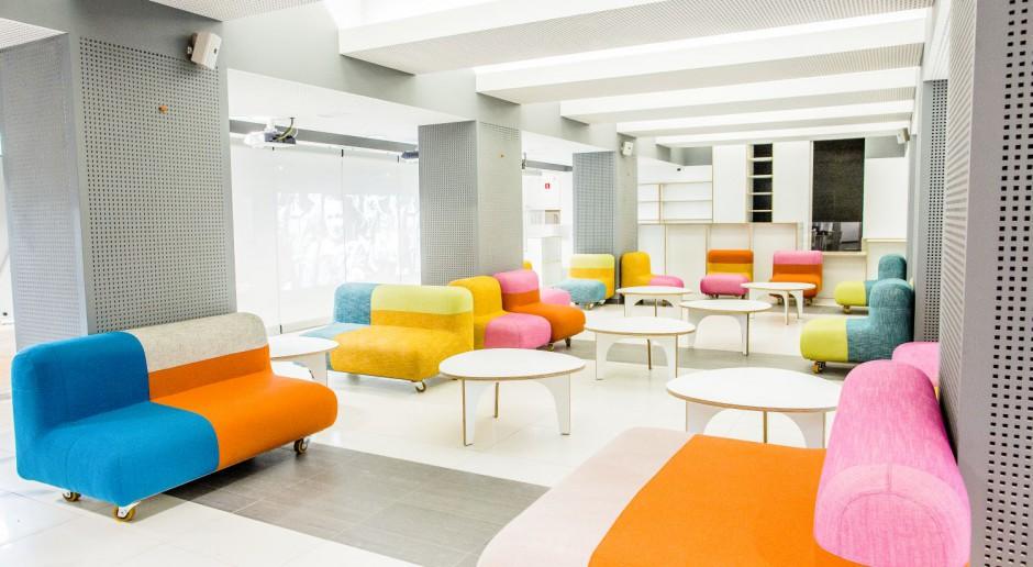 Kolorowe i inspirujące wnętrza NInA - Narodowego Instytutu Audiowizualnego