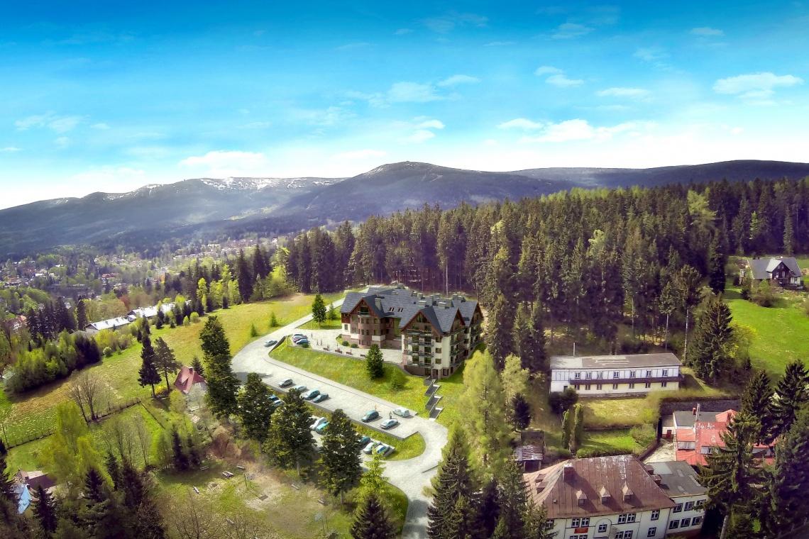 ART-DOM buduje Czarny Kamień Resort & SPA w zabytkowej Villi Sylva