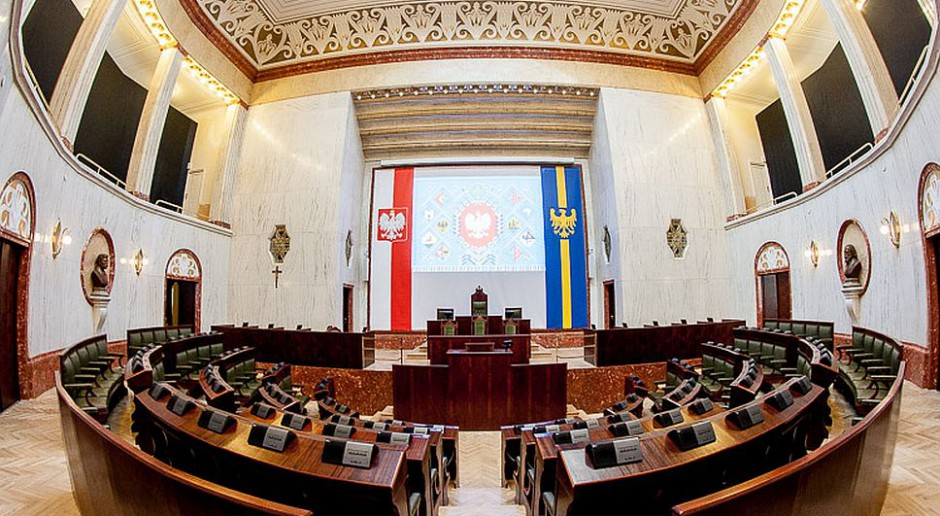 Historyczna sala obrad Sejmiku Śląskiego odzyskała dawny blask