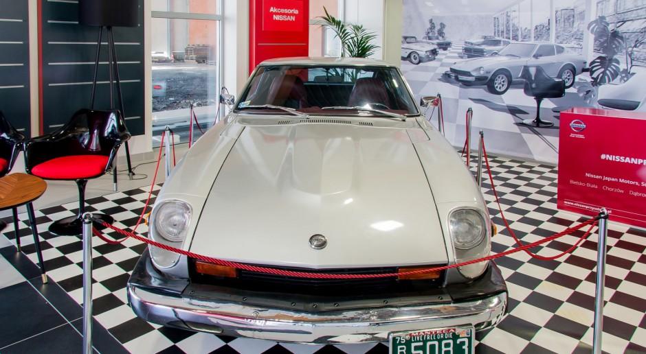 Salon samochodowy w stylu retro
