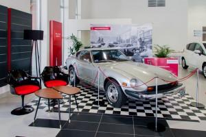 Salon dla marki Nissan według projektu Wzorro Design