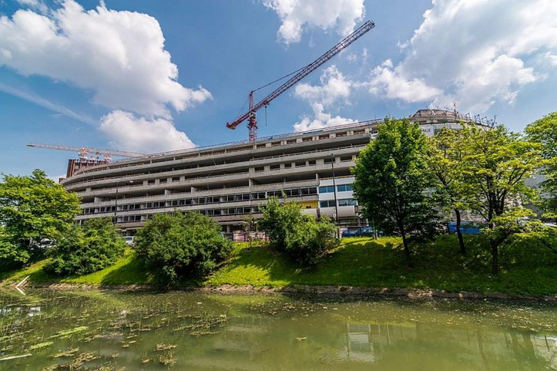 OVO Wrocław projektu Gottesman-Szmelcman Architecture urósł ponad 20 metrów