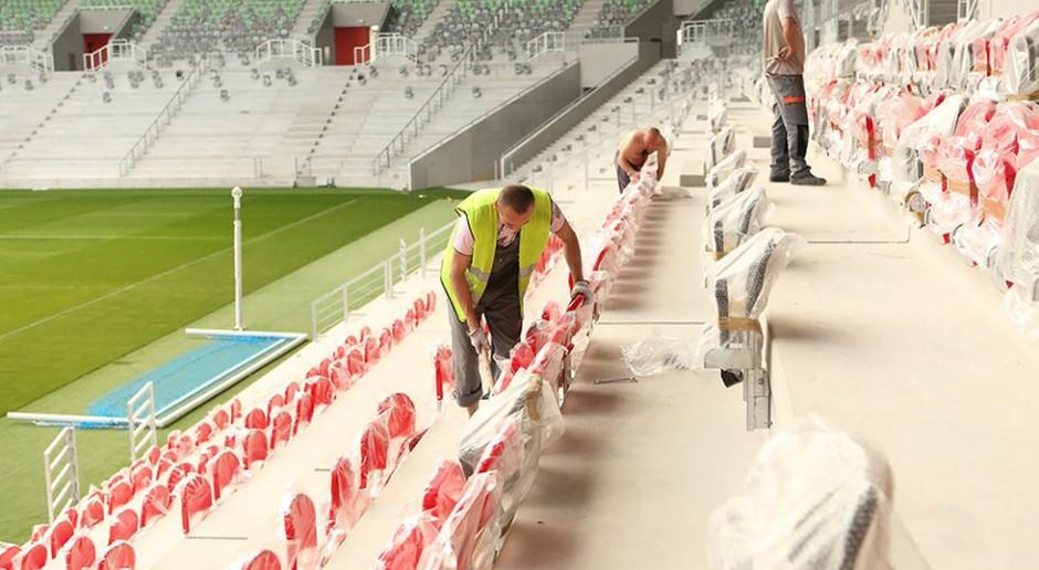 Fotorelacja z budowy stadionu GKS Tychy od Perbo-Projekt