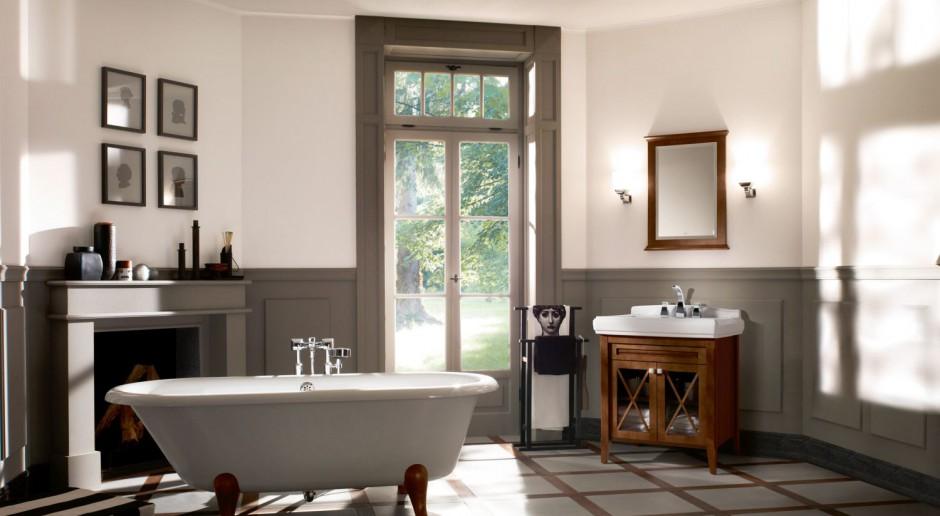 Retro styl wkracza na salony… kąpielowe