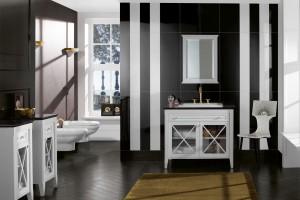 Kolekcja łazienkowa Hommage od Villeroy & Boch w stylu retro