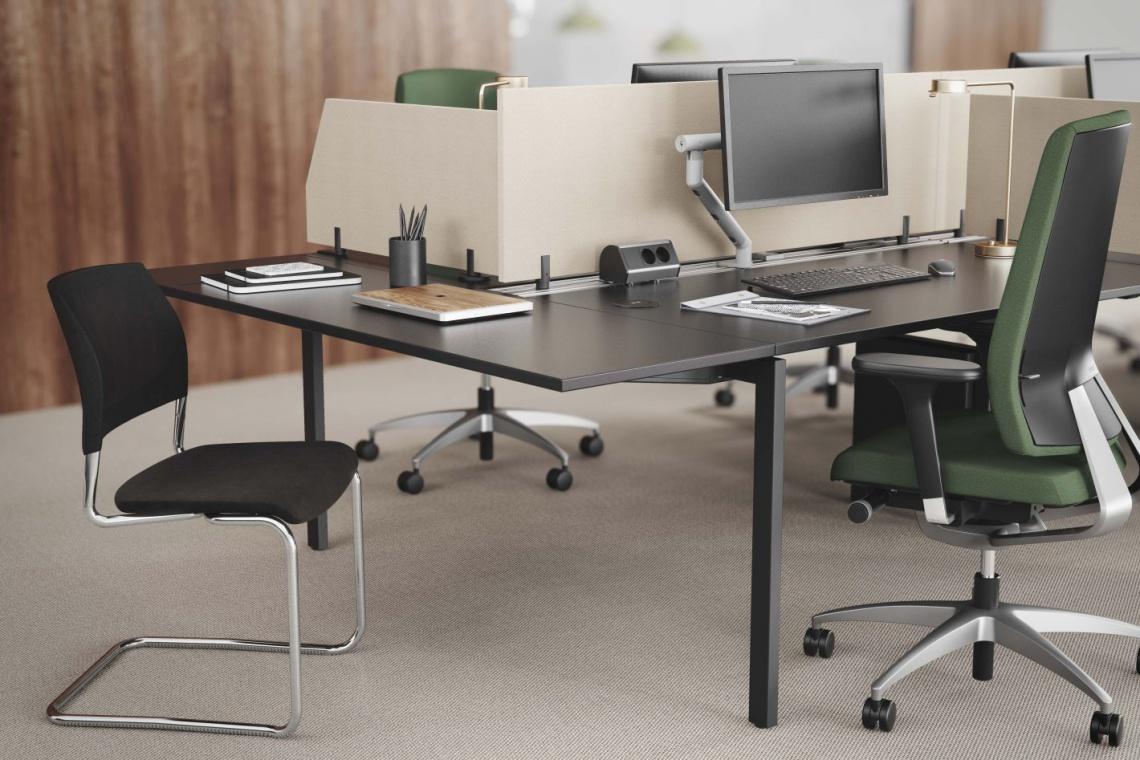 Zrównoważony i elegancki design stołu Nexus