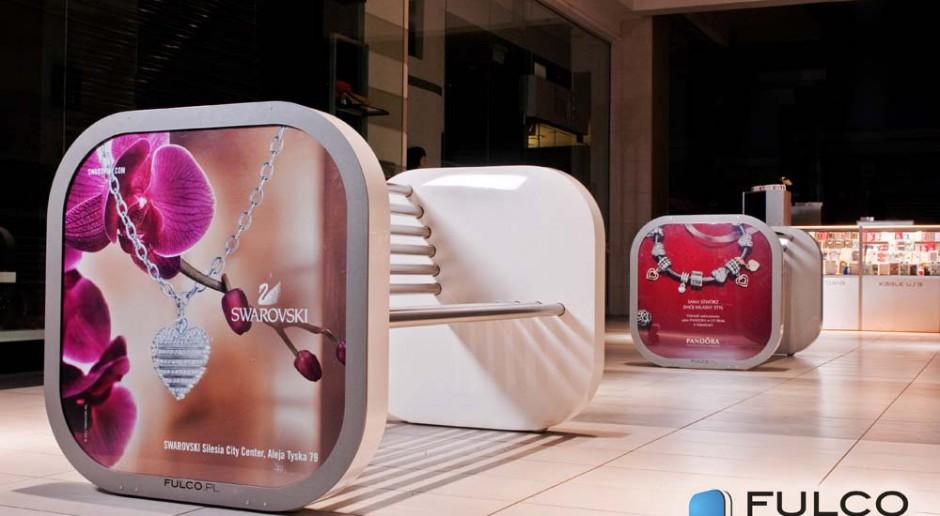 Designerskie ławki w obiektach M1