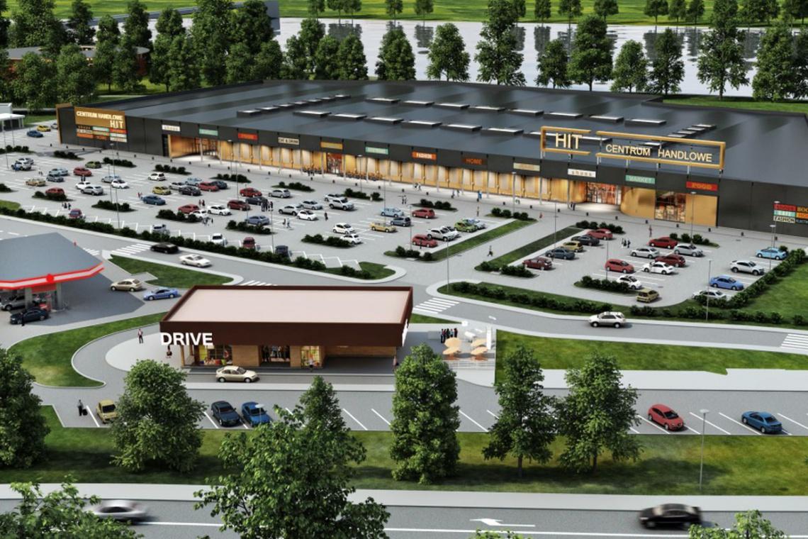 Centrum handlowe HIT projektu ATT Architekci na starcie