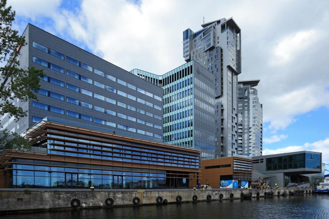 Tak wygląda hotel Courtyard by Marriott w Gdyni według projektu pracowni FORT