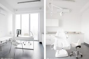 Elegancki i nowoczesny gabinet medyczny od Maka Studio