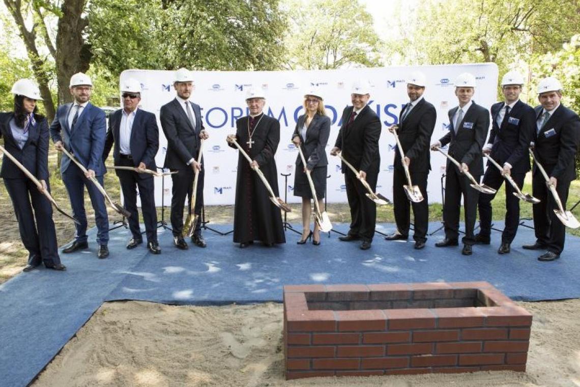 Budowa Forum Gdańsk ruszyła pełną parą
