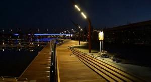 Nocna fotorelacja: Port na Wyspie Grodzkiej według PPA podczaszy