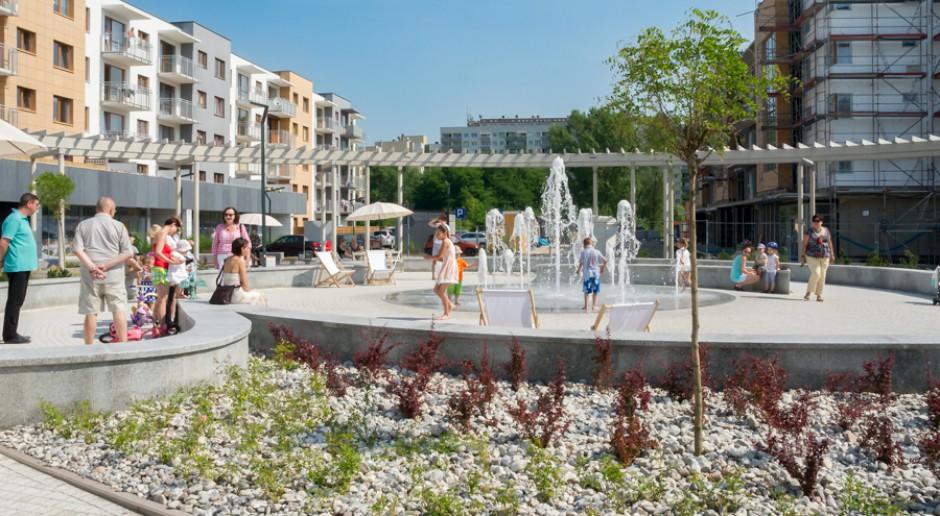 Czy fontanna może odmienić układ przestrzenny?