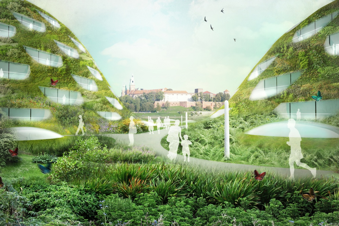 Zwrócić Kraków ku rzece i zachować zielony charakter bulwarów wiślanych