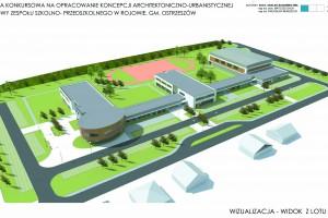 Kompleks edukacyjny k. Ostrzeszowa projektu B.R.H. Bereżecki