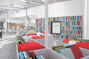 Biblioforum - to niezwykła biblioteka projektu A la carte Beata Kruszyńska