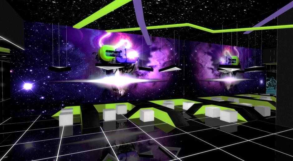 Kosmiczny design w gorzowskim Cinema 3D od Formacja Projekt