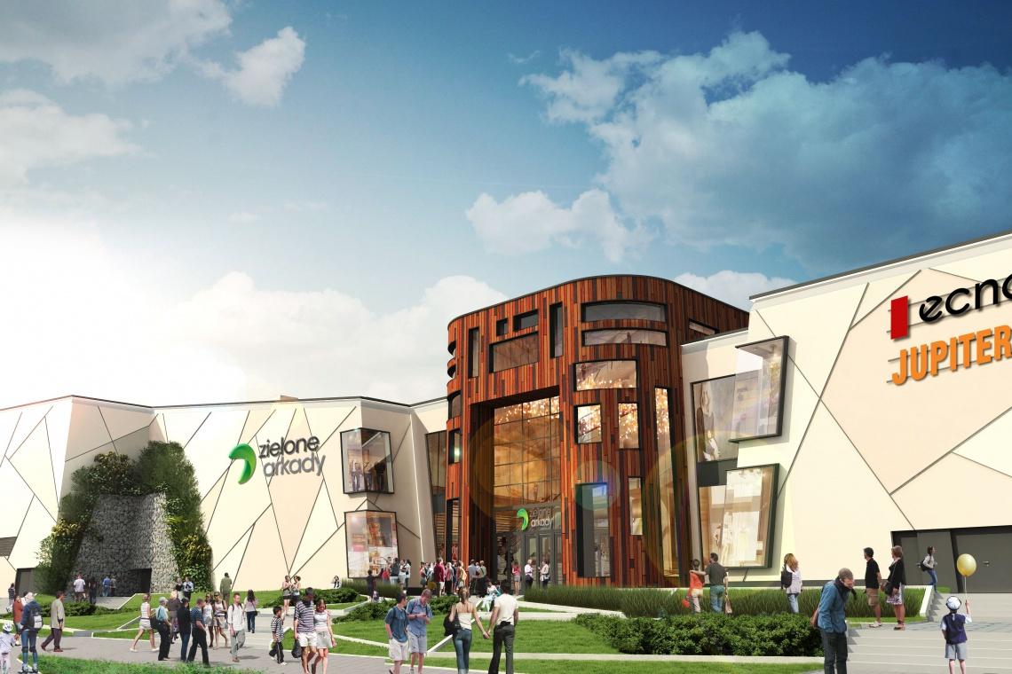 Centrum handlowe Zielone Arkady pod lupą