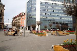 Nowy Rynek w centrum Katowic
