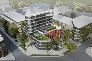 Biuro architektoniczne NOW i Skanska dla firmy Comarch w Łodzi