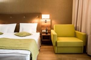 Hotel Malinowy Raj to projekt Dekor Studio Marta Hojna