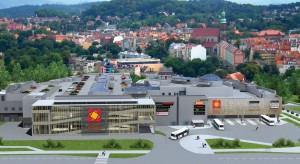 Co nowego na budowie galerii Nowy Rynek w Jeleniej Górze?