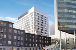 Zakończono konstrukcję Atrium 2, projektu PRC Architekci