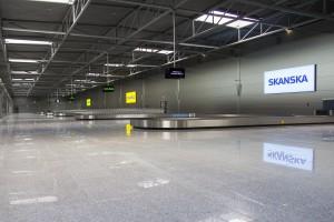 Nowy terminal C w Pyrzowicach według projektu Budoprojekt