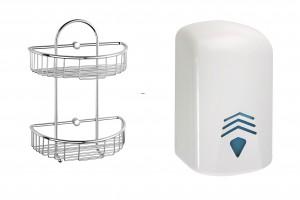 Baterie i akcesoria łazienkowe dla pensjonatów, hoteli i domów wypoczynkowych