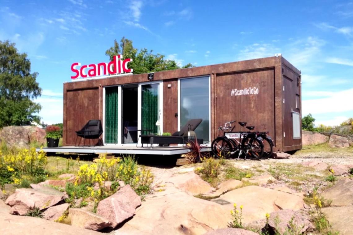 Hotelowa rewolucja według sieci Scandic - zobacz wideo
