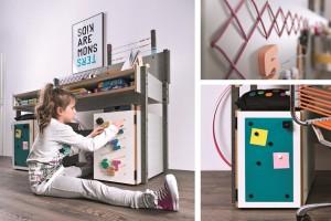 Biurko dziecięce VOX inspiruje i motywuje do twórczej pracy