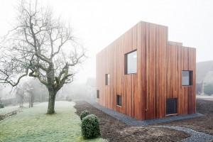 Drewniane dzieło szwajcarskich projektantów