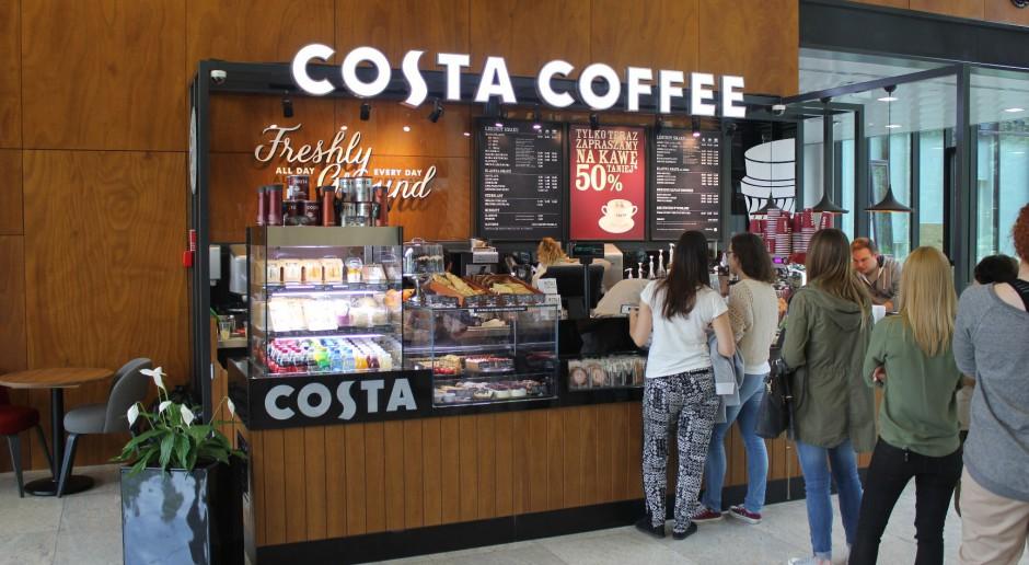 Nowy koncept pod szyldem Costa Coffee w Klifie Gdynia