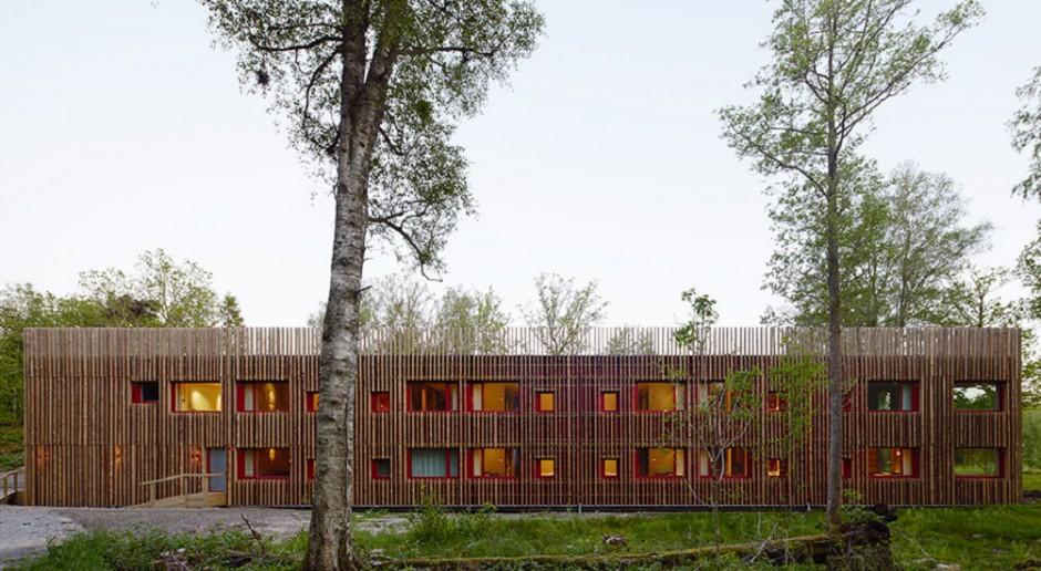 Hotel zagubiony w lasach