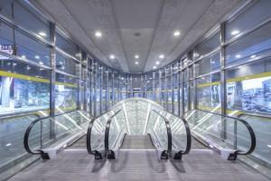 Energooszczędne i efektowne oświetlenie II linii metra od LUG Light Factory