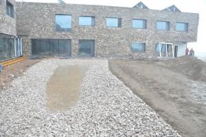 Ostatnie prace przy budowie Europejskiego Centrum Edukacji Geologicznej